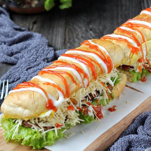Roti Long Jhon